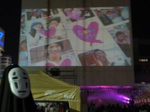 10,000人参加の「笑顔がヒロガル~未来へ~」